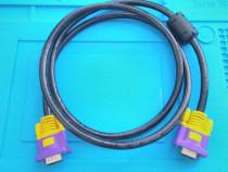 Cablu VGA - VGA 1.5m, 2048 x 1536 max, conector ferita