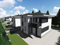 Casa la roșu sau semifinisat strada Căprioarei Lucian Blaga