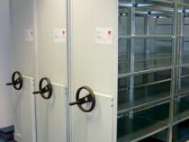 Rafturi rulante Bisley UK pentru arhivare - 6 module