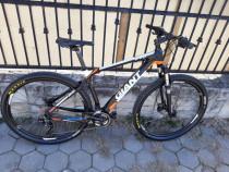Bicicleta carbongiant xtc advanced 29r slx deore xt rockshox