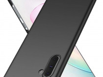 Samsung Note 10 10 Plus Husa Slim Silicon Rosie Neagra Albas