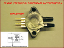 Senzor de presiune MPX 2100DP de Freescale Semiconductor