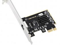 Placa de retea 2500 Mbps 2.5 Gbps GbE RJ45 Realtek RTL8125