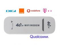 Modem 4G LTE Qualcomm Wi-Fi HotSpot - DIGI, Orange, Vodafone