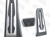 Pedale inox bmw f10,g30,f01, x3, x4, z4, f11 transmisie auto