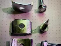 Clema cu șurub autoforant pentru țeavă rotunda