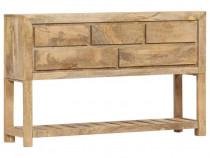 Servantă, 120 x 30 x 75 cm, lemn masiv de 247479