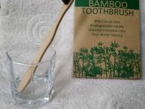 Periuta de dinti ecologica din bambus, perii medium/soft