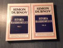 Istoria hasidismului De Simon Dubnov 2 volume