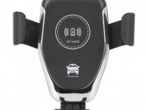 Suport Auto Telefon cu Incarcare Wireless 15w pentru Ventila