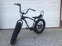Bicicleta cutezator ev banana - negru stelar