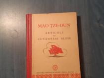 Articole si cuvantari alese Mao Tze Dun