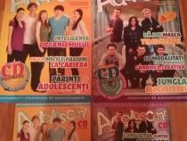 "Nr. 40 si Nr. 41 ale Revistei ""Adolescent"" + CD-uri"