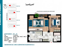 Berceni-Luica,Sabina Residence apartament 2camere,bloc nou !