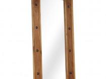 Oglindă, lemn masiv de salcâm, 50 x 110 cm 246309