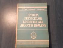 Istoria serviciilor logistice ala armatei romane T Dafinescu