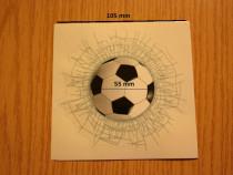 Stiker minge fotbal