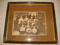 B298-I-Foto militar maghiar Banat 1917 cu familia.