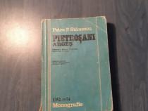 Pietrosani Arges de Petre P. Stanescu monografie cu autograf