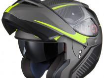 Casca moto NOUA casca ATV Casca Flip up casca Modulara Black