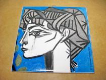 B459-I-Aplica Succession Picasso 2004 ceramica stare buna.