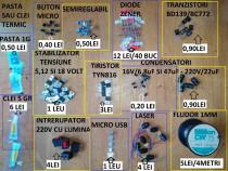Tranzistori,diode,lasere,tiristori,regulatoare tensiune,etc