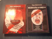 Securitatea si evreii 2 volume Tesu Solomovici cu autograf