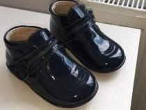 Papuci piele copii nr 23
