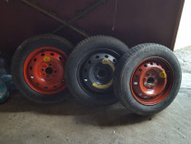 Roata rezerva slim(biscuit) Fiat,Golf3,Renault,Dacia etc.4x1