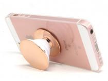 Suport telefon adeziv, universal, rose gold, Bigmeda