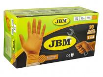 Manusi JBM Portocalii Nitril 7Mil 53553 90 Buc XL