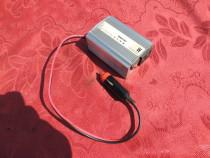 Invertor auto rulote 12/220V 200W
