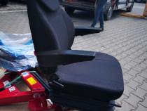 Scaun perna tractor utilaje agricole cu suspensie import