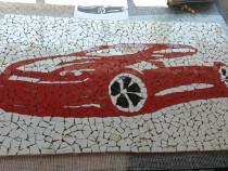 Tablou decorativ mozaic ceramica hand made Sport Car