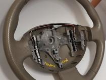 Volan piele Renault Megane 2 Scenic bej lux privilege