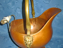 6217- Jardiniera mare bronz lateral capete Lei.