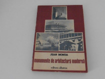 Jean monda monumente de arhitectura moderna