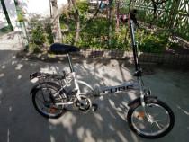 Bicicleta 3+1 pliabila