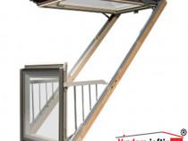 Fereastra de mansarda balcon FGH-V 94x255cm