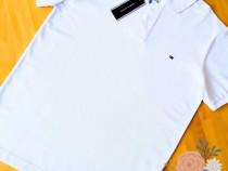 Tricouri Tommy Hilfiger bumbac logo brodat