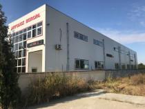 Hala industriala la iesire din localitatea Costesti