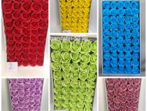 Trandafiri sapun, cutii, burete, verdeata, accesorii