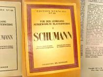 B554-Album Schumann-Piese selectate de Pian partituri 1927.