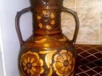 Vaza artizanala Harghita lucrata manual