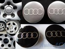 Capacele centrale Jante aliaj Audi aftermarket 5,5 – 6 cm