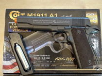 PRET BUN!! Pistol Airsoft Colt FULL METAL Cu Aer Comprimat R