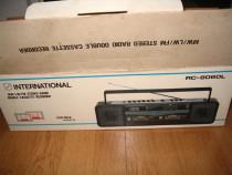 Radio casetofon International (philips,akai, toshiba)
