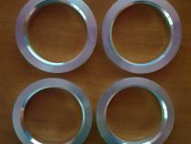 Inele centrare jante noi din aluminiu 72.5-57.1 mm