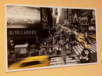 Tablou decorativ - panza / canvas - 55x85 cm - cadru lemn