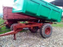 Remorca monoax bena agricola 6 tone